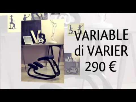 Video varier sedie ergonomiche a milano via crema onfuton for Onfuton arredamento ecologico