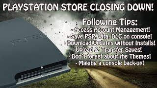 PlayStation 3 Store Closing Down! Tips To Access Your Games & Preserve Your Console!