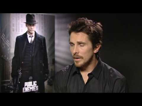 Christian Bale Interview for Public Enemies