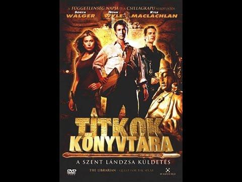 Youtube filmek - A titkok könyvtára 1 teljes film magyarul