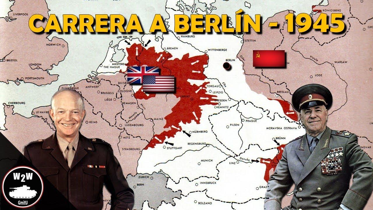 ¿Por Qué los Soviéticos Llegaron Primero a Berlin en 1945? - Segunda Guerra Mundial