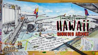 하와이 여행그림일기6 / Hawaii Travel Jo…