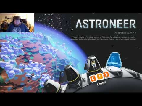 One man Settlement : Astroneer