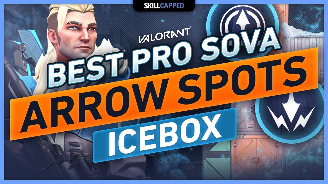 Best PRO Sova ARROW SPOTS on ICEBOX (Recon Bolts & Shock Darts)!