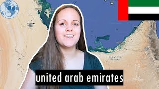 Zooming in on United Arab Emirates | Geography of United Arab Emirates