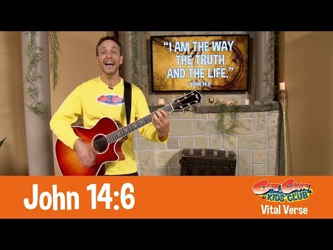 John 14:6 Vital Verse - Cat.Chat Kids Club: Treasures Of Faith