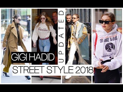 Gigi Hadid Street Style 2018 (updated)