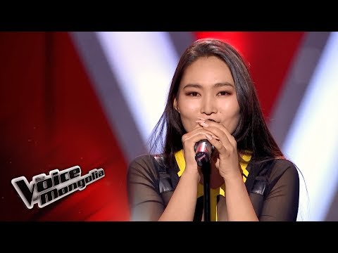 """Ohintenger.D - """"Halo"""" - Blind Audition - The Voice of Mongolia 2018"""