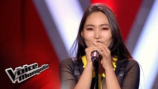 "Ohintenger.D - ""Halo"" - Blind Audition - The Voice of Mongolia 2018"