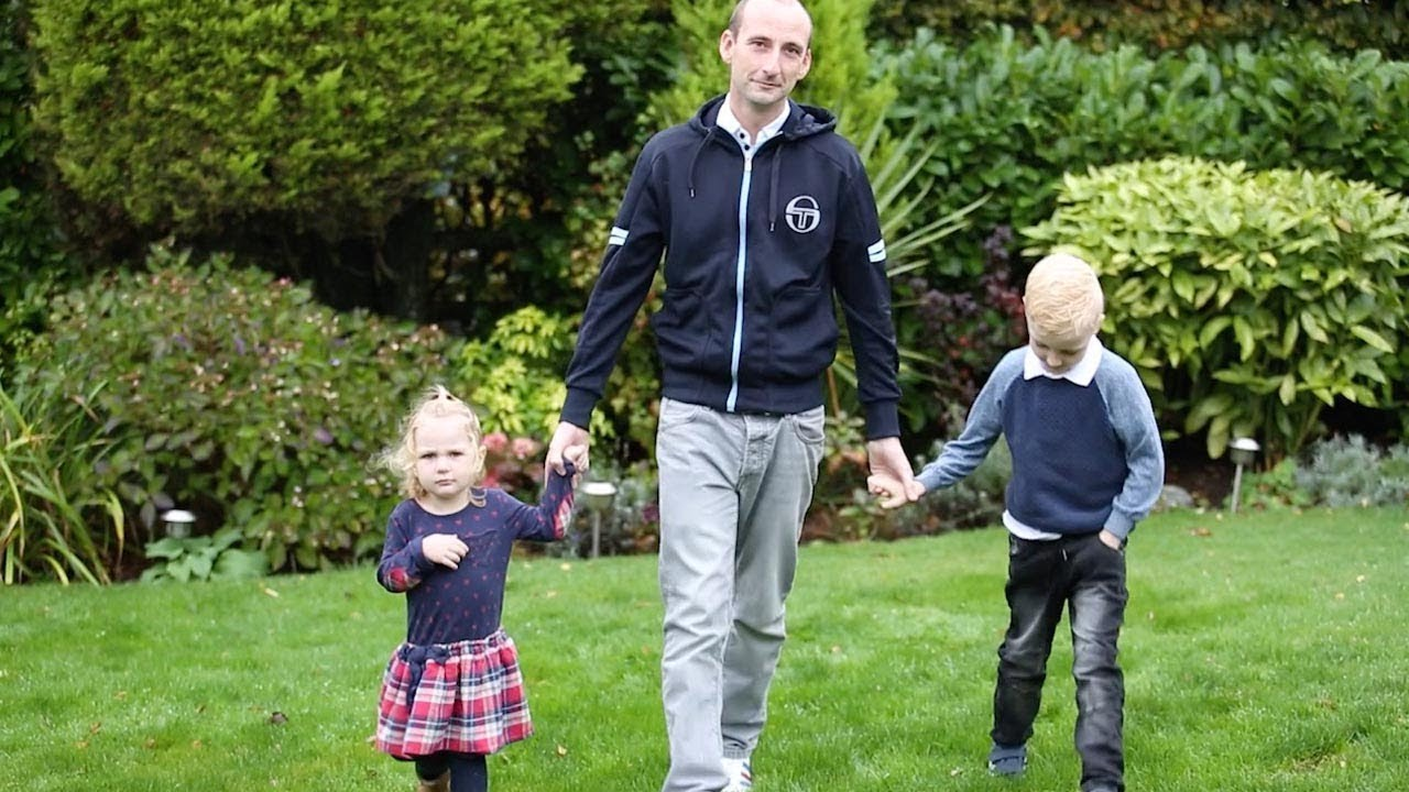 Paralysed Dad Learns To Walk Again Alongside Infant Daughter