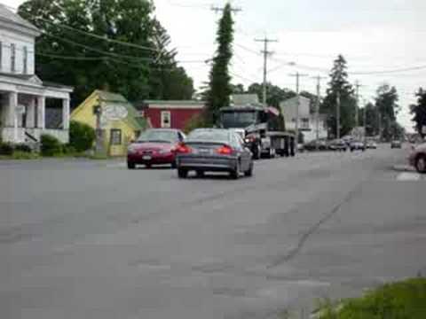 Watchin' trucks in Bouckville (Part 2)
