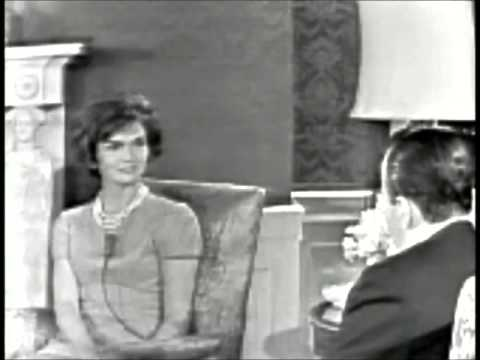 Jackie Kennedy White House Tour Youtube