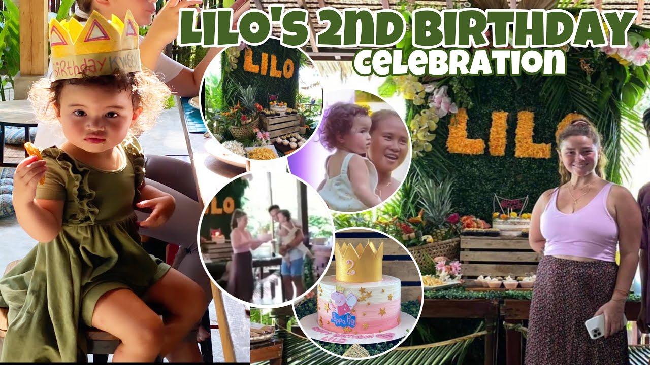 Lilo's 2nd Birthday Celebration ginanap sa Siargao napakabongga! Happy ang mga Bisita ang dami handa
