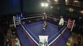 Ultra White Collar Boxing Croydon | Kevin Chambers VS Martyn Foskett
