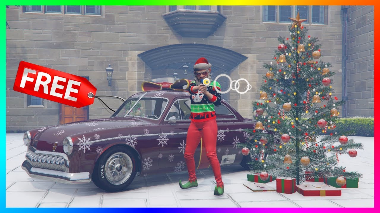 Christmas Updates Gtav 2020 GTA 5 Online   NEW UPDATE! Snow Has Arrived, FREE Christmas Gifts