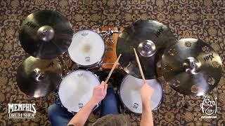 [3.81 MB] Sabian HHX Evolution Performance Cymbal Box Set - Brilliant (15005XEBP-1092117C)