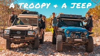 TROOPY & JEEP TACKLE EPIC CANYONS -  Overlanding, Offroading & Camping Exmouth Adventures | Ep 28 |