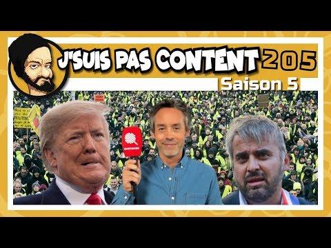 J'SUIS PAS CONTENT ! #205 : Le JDD censure, Trump construit son mur & Jupiter créa le monde...