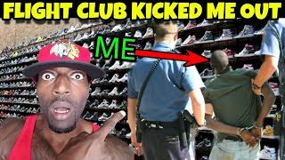 Flight Club LA Kicked Me Out Of The Store!! Los Angeles Vlog Part 3.