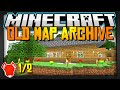 Minecraft | MY ENTIRE MAP COLLECTION! | Part 1/2