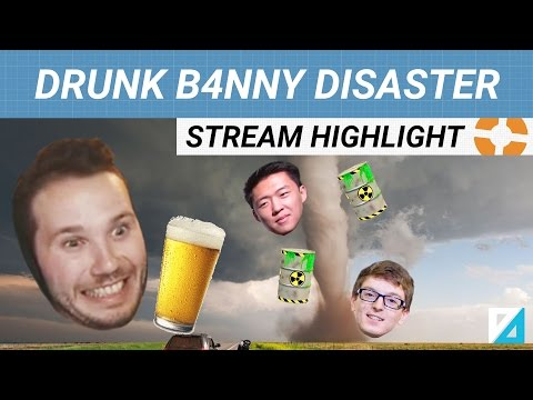 [TF2] drunk b4nny + toxic gamers = disaster PART 1