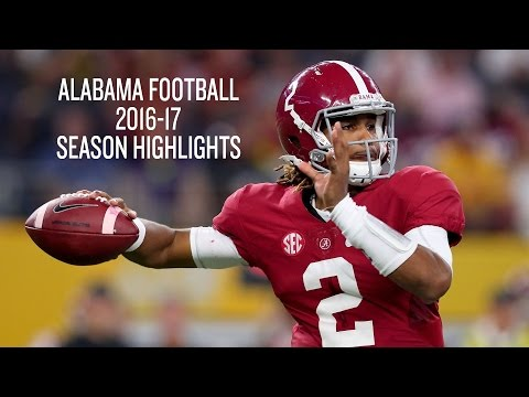 Alabama Football 2016-17 Season Highlights - SEC Champs