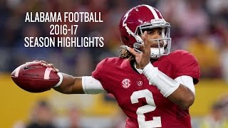 Alabama Football 2016-17 Season Highlights - SEC Champs