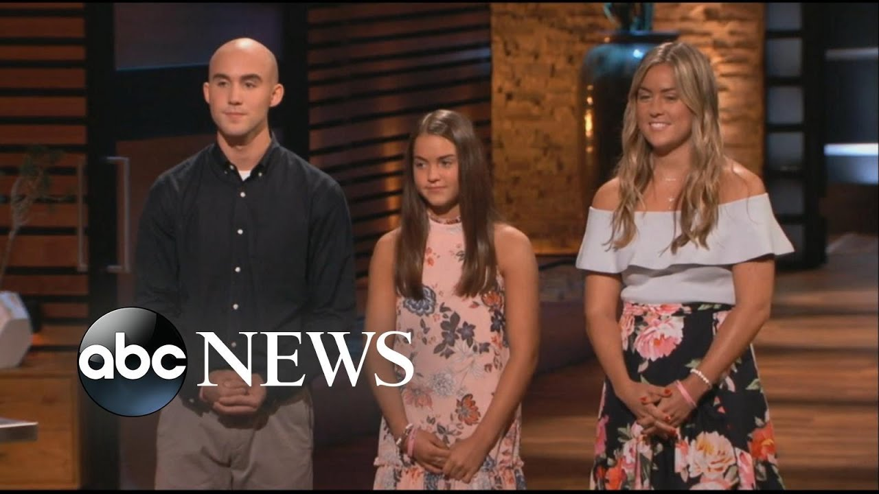 af880c358d6 Family pitches product for late firefighter father on  Shark Tank ...