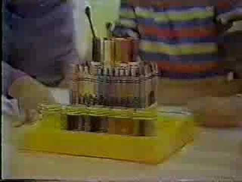 vintage 80 s crayola caddy commercial youtube