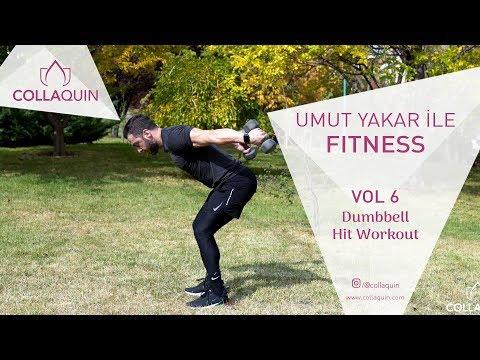 Umut Yakar İle Fitness | Vol 6 | Dumbbell Hit Workout