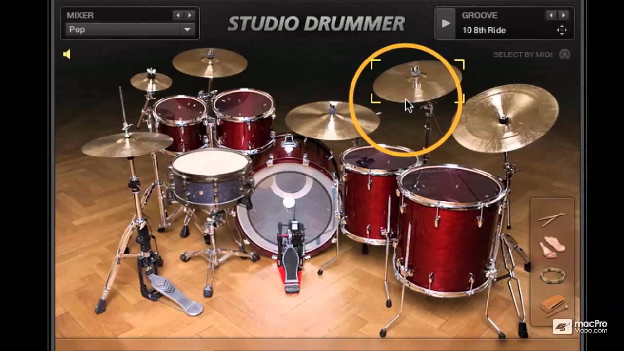 ni studio drummer