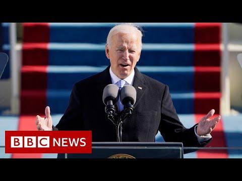 President Biden inauguration speech in full - BBC News