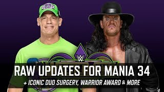 WrestleMania 34 Plans Updates from Monday Night Raw & More (Smack Talk 326 Hot Tags)