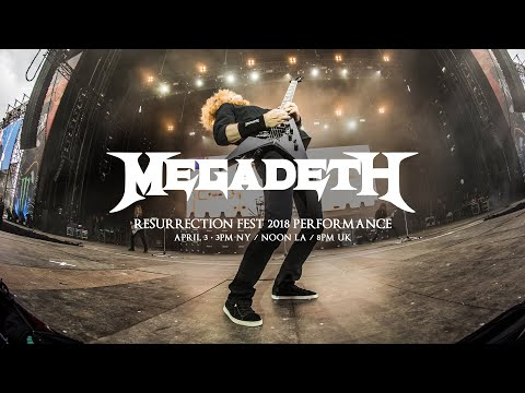 Megadeth: Live At Resurrection Fest 2018