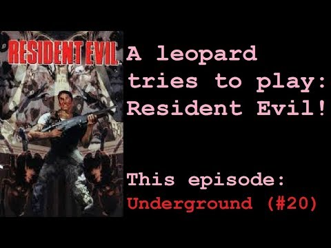 Let's Play Resident Evil - Director's Cut [BLIND] — Underground. (#20)