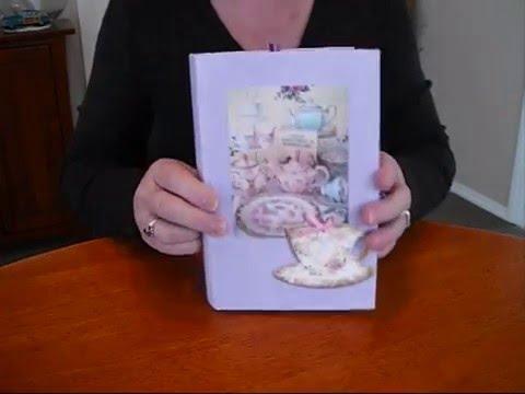 Altered Book   Alice In Wonderland