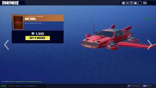 NEW STAGE SLAYER SKINS & HOT RIDE DELOREAN GLIDER | Fortnite Daily Shop