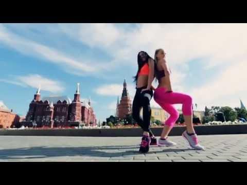 Advanst PR - Красивые фитнес девушки танцуют Beauty Moscow Girl