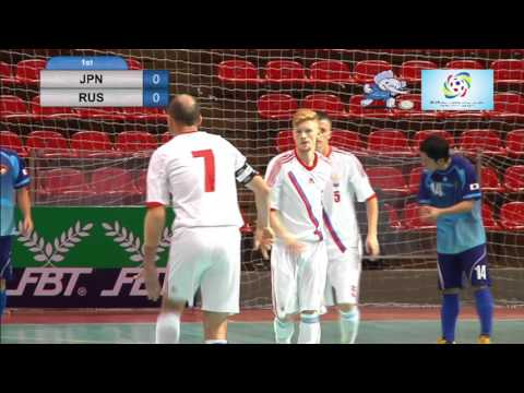 2016 Deaf Futsal 21 Nov 2015 Men Japan Russia Indoor Stadium Huamark