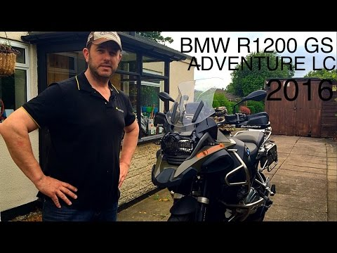 BMW R1200 GS ADVENTURE LC 2016 MODEL - My custom modifications so far - (overview/walkthrough)