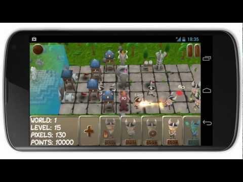 Pixel Raid - Android Triler