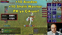 6000 Ap'li | +10 Avedon , +10 Shelli Warrior PK'ya Çıkıyor! | Knight Online