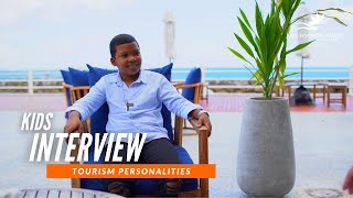 Peith Interviews Roy | Kids Interview Tourism Personalities | The Seychelles Islands