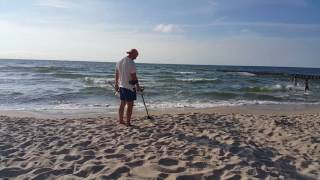 Poszukiwacz plaża Fisher f70 ekoroman