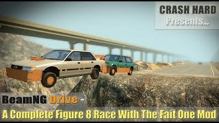 BeamNG Drive - Racing & Crashing The Cardboard Styling Mod