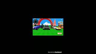 Down well Super Heros car racing