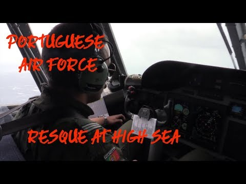 Sailing Marinus - Vessel Sinks in Atlantic Ocean - † - Portuguese Air Force (rerun)