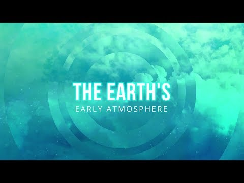 The Formation and Composition of the Earth's Early Atmosphere