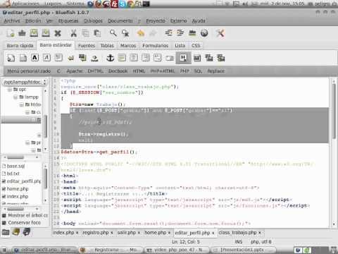 VideoTutorial 47 del Curso de PHP POO