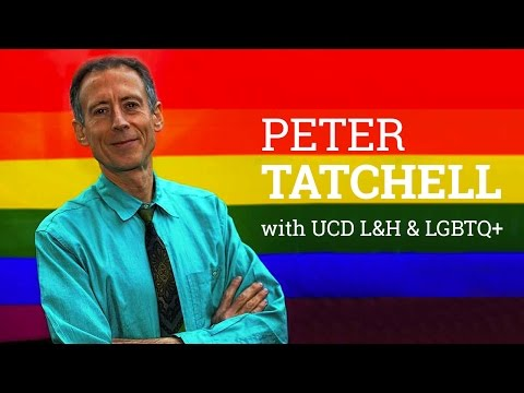 Peter Tatchell receives UCD James Joyce award for 50 years of activism (2016)